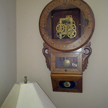 Antique Wall Clock (1870's) - Clocks