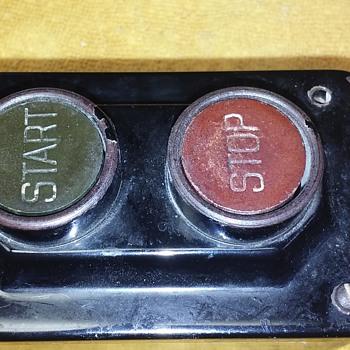 1920's SQUARE D stop/start station - Electronics