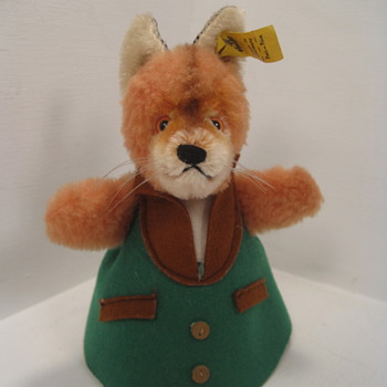 "Steiff's Adorable and Unusual ""Nightcap Fox"""