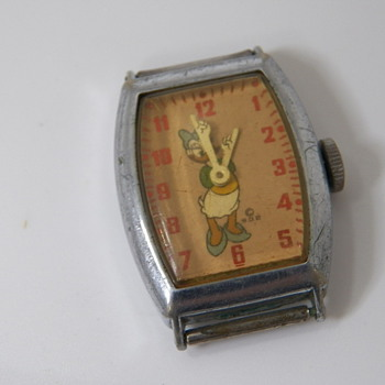 1947 Daisy Duck Wristwatch - Wristwatches