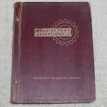 Machine Shop Operations Manual - 1942