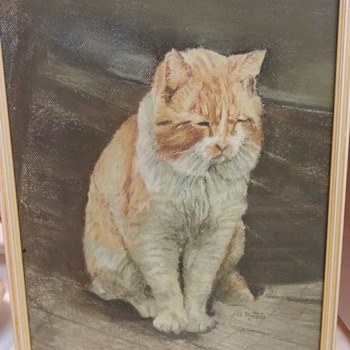 BEAUTIFUL FELINE PAINTING