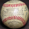 1945 Portland Beavers Autographed Baseball