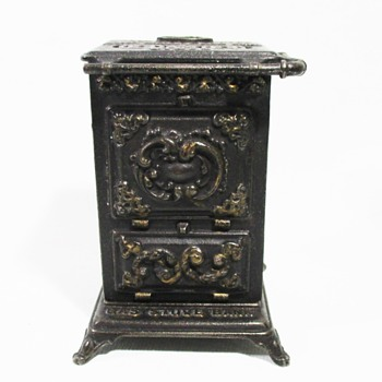 Cast Iron Gas Stove Bank