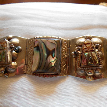 "7"" Mexico  bracelet - Sterling Silver"