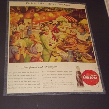 copy right 1916 picture - Coca-Cola