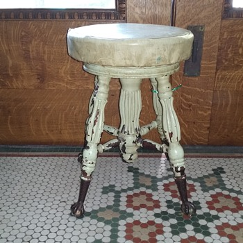 Antique stool - Furniture