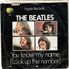 Beatles 45 - Let It Be/You Know My Name (Look Up The Number) - Fair Condition
