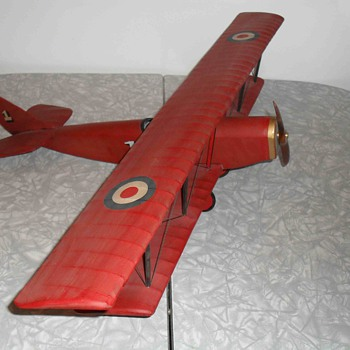 World war 1 Bristol fighter plane.