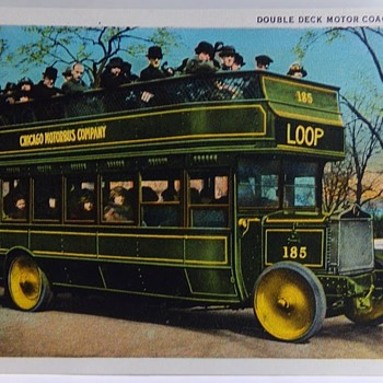 Chicago Motorbus - Postcards
