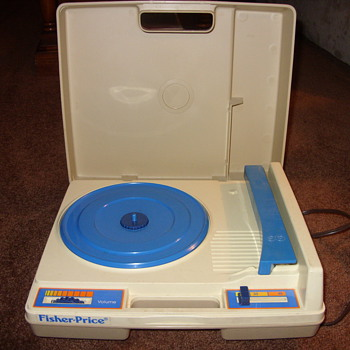 early 70s fisher price record player - Toys