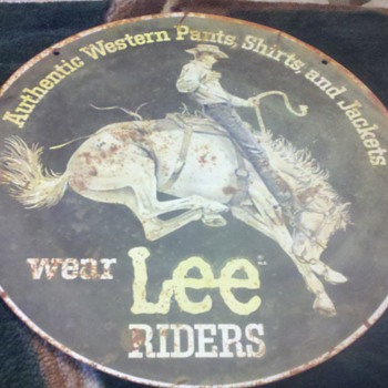 bronc rider - Signs