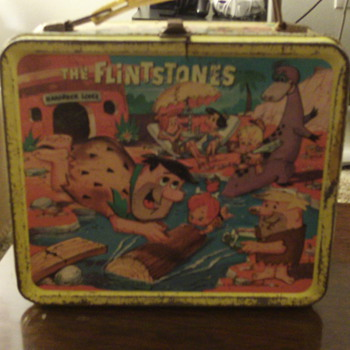1964 Flintstones Lunchbox - Kitchen