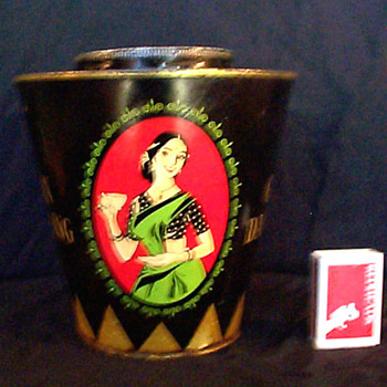 Golden Darjeeling Tea Tin - Advertising