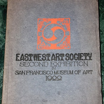 Eastwest Art Society - Second Exhibition in San Francisco Museum of Art - 1922 - Books