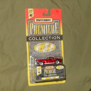 Matchbox Premiere Collection 62 Corvette - Model Cars
