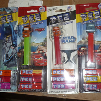 pez despensers - Toys