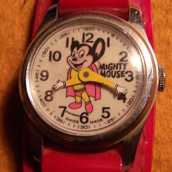 Mighty Mouse Wrist Watch - Wristwatches