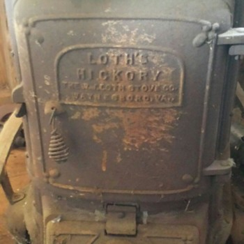 Loth's Hickory Stove No.28 - Kitchen