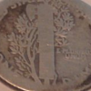 U.S 1916 Mercury Dime
