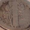 U.S 1916 Mercury Dime