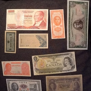 Some paper money