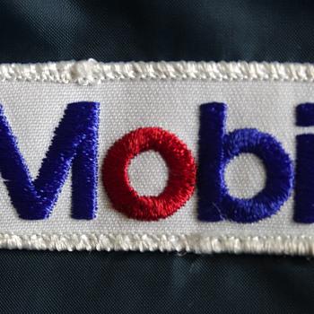 Vintage Mobil Oil Service Station Attedant's Jacket