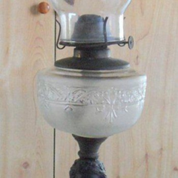 Oil Lamp needing identification - Lamps