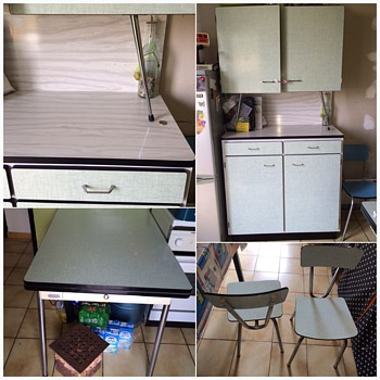 My Formica kitchen french 1950 - Mid-Century Modern