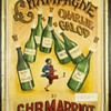 """""""Champagne Charlie Galop by C.H.R. Marriott"""" - an early canvas"""