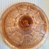 Pink glass lid
