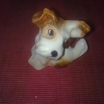 SYLVAC TERRIER FIGURE - Animals