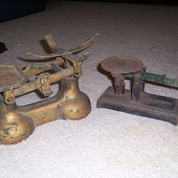 just found 2 old scales - Tools and Hardware