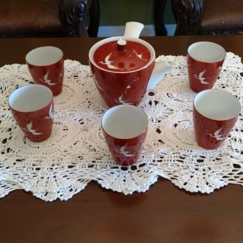 Asian Tea Set - Asian