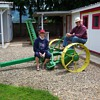 This is my John Deere mower Big No 4