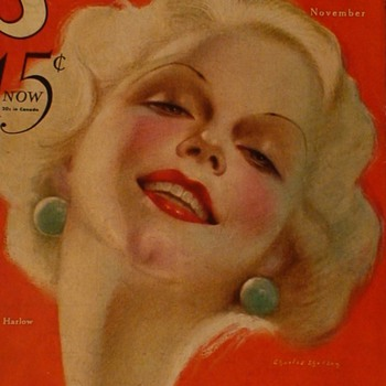 Jean Harlow Movie Magazines 1930s - Paper