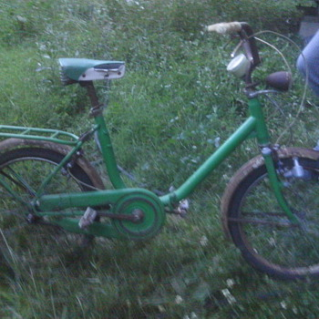 antique folding bicycle - Sporting Goods