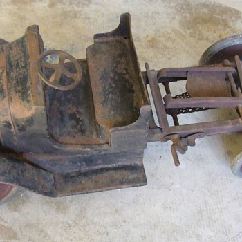 BUDDY-L Pressed Steel Dump Truck, mid to late 1920&#039;s