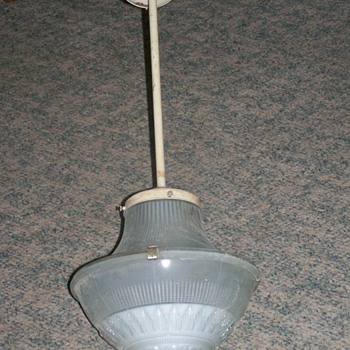 1925 Holophane Pendent Light 