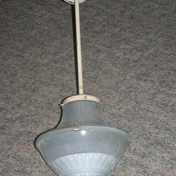 1925 Holophane Pendent Light