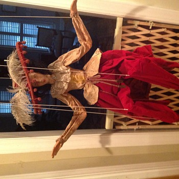 Antique marionette - Toys