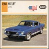 Vintage Car Card - Mustang Shelby GT350