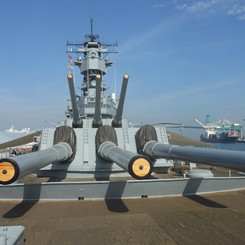 USS Iowa BB61 Featuring the Battle Bridge
