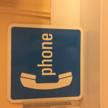 Phone Sign - Signs