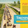 1959 Triumph Motorcycles Product Line Booklet
