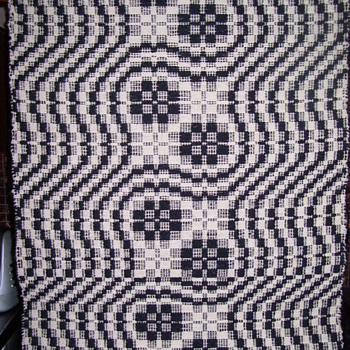 EXAMPLE OF COLONIAL PATTERN WEAVING - Arts and Crafts