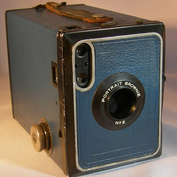 Kodak Brownie no2 portrait