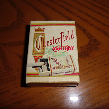 ~~Chesterfield Cigarette Pocket ashtray~~