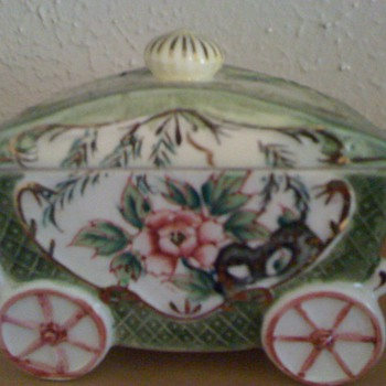 Porcelain or Ceramic Coach - Asian