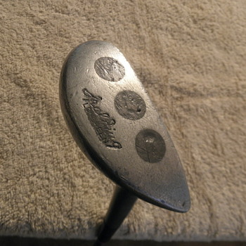 My Old Spalding mallet head putter